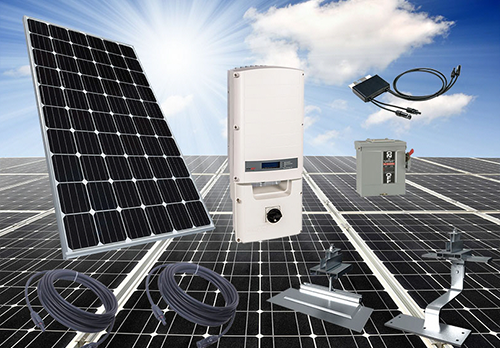 Mitsubishi Electric solar systems.